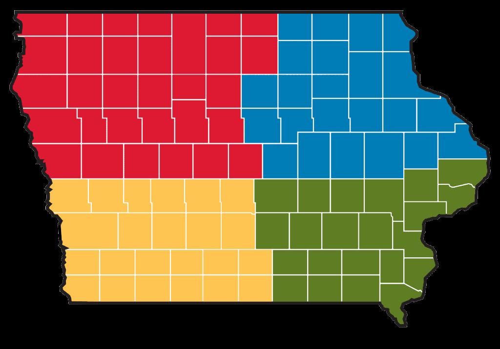 CIRAS Territory Map.