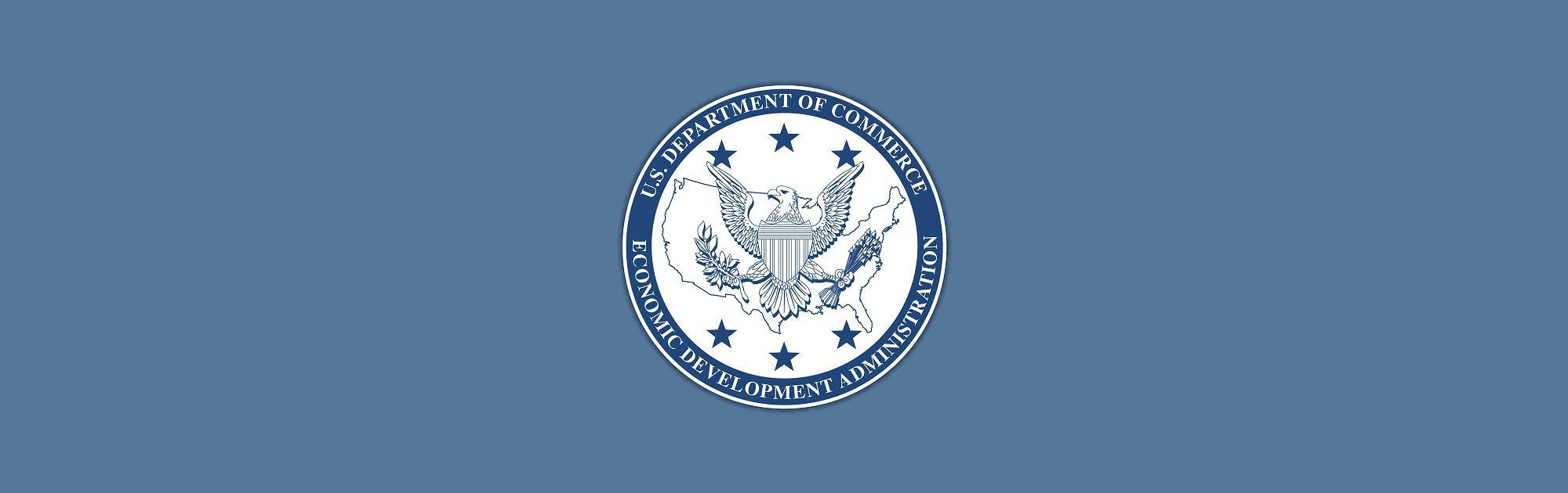 U.S. Department of Commerce Economic Development Administration logo.