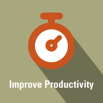 How do I improve productivity?